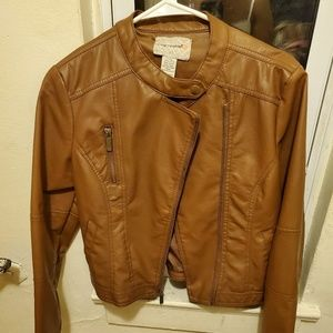 Jackets & Coats - Juniors faux leather jacket